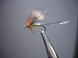 Fertige Fliege